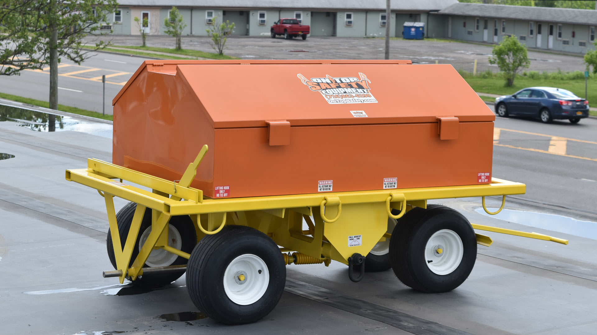 eagle claw safety cart