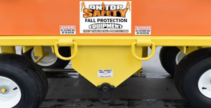 Eagle Claw Fall Protection Cart